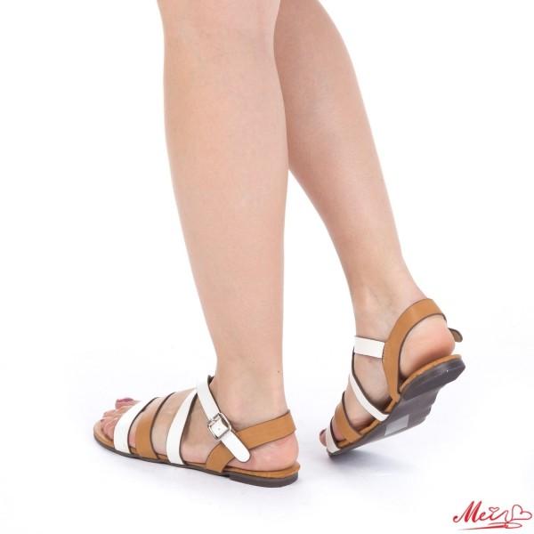 Sandale Dama OL126 White Mei