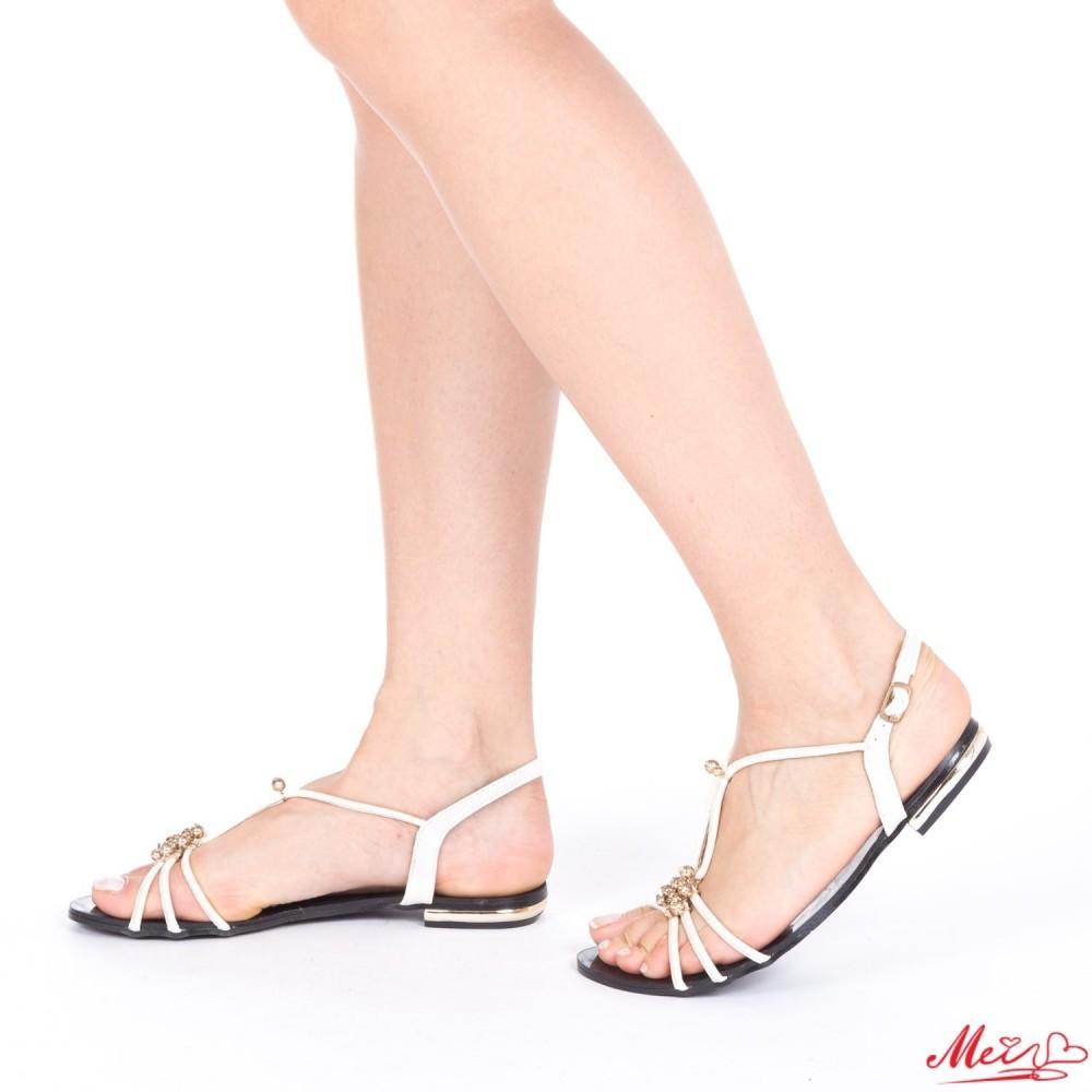 Sandale Dama OL206 White Mei