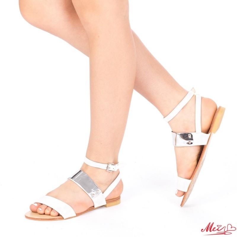 Sandale Dama OL2341 White Mei