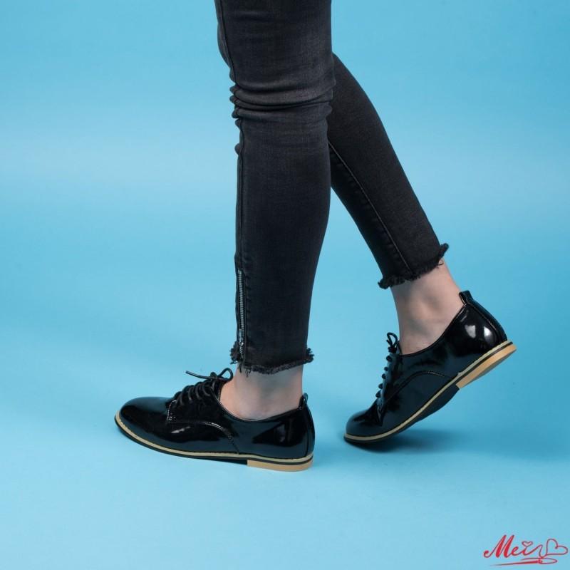 Pantofi Casual Dama OL2471 Black Mei