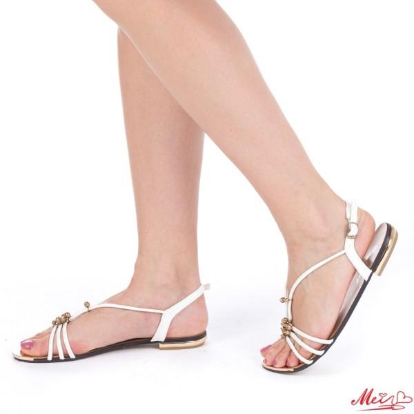 Sandale Dama OLH5 White Mei