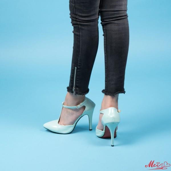 Pantofi cu Toc OLMD5 Blue Mei