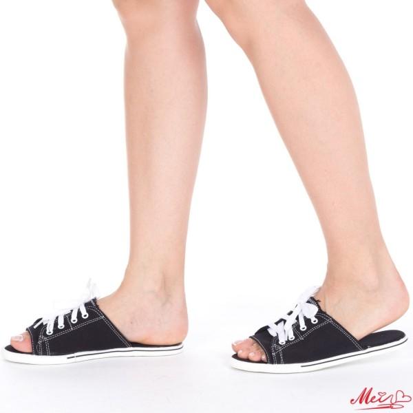 Papuci Dama P05 Black Mei