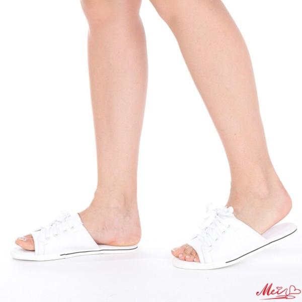 Papuci Dama P05 White Mei