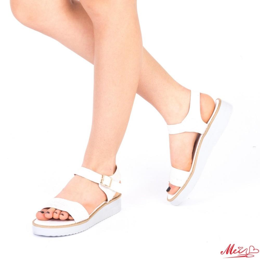 Sandale Dama QZL175 White Mei