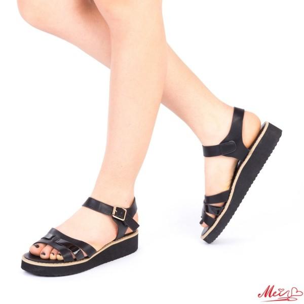 Sandale Dama QZL177 Black Mei