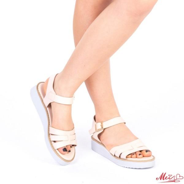 Sandale Dama QZL177 Nude Mei