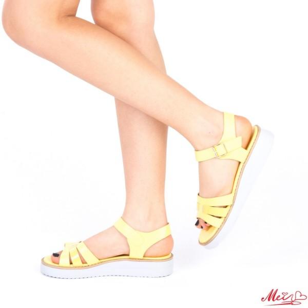 Sandale Dama QZL177 Yellow Mei
