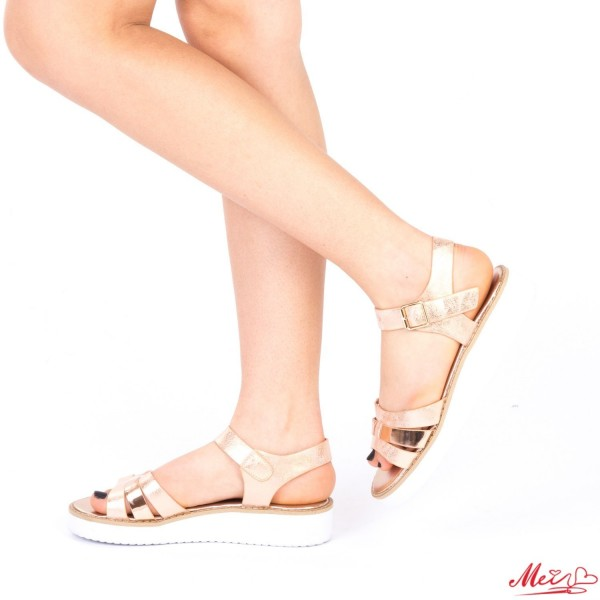 Sandale Dama QZL177A Gold Mei