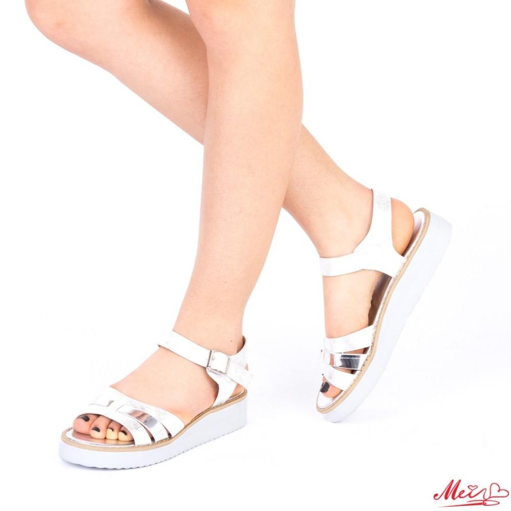 Sandale Dama QZL177A Silver Mei