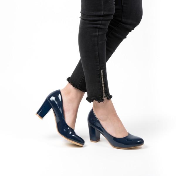 Pantofi cu Toc QZL25 Blue Mei