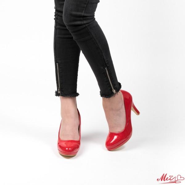 Pantofi cu Toc QZL65 Red Mei