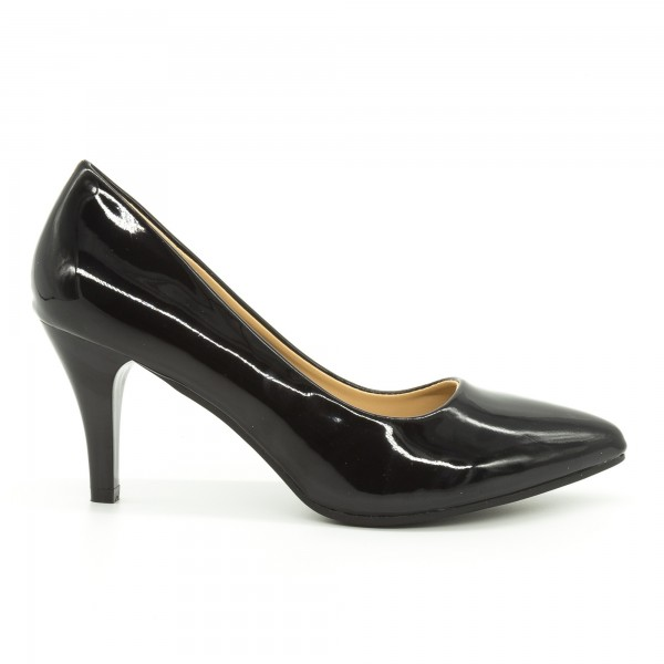 Pantofi cu Toc QZL66 Black Mei