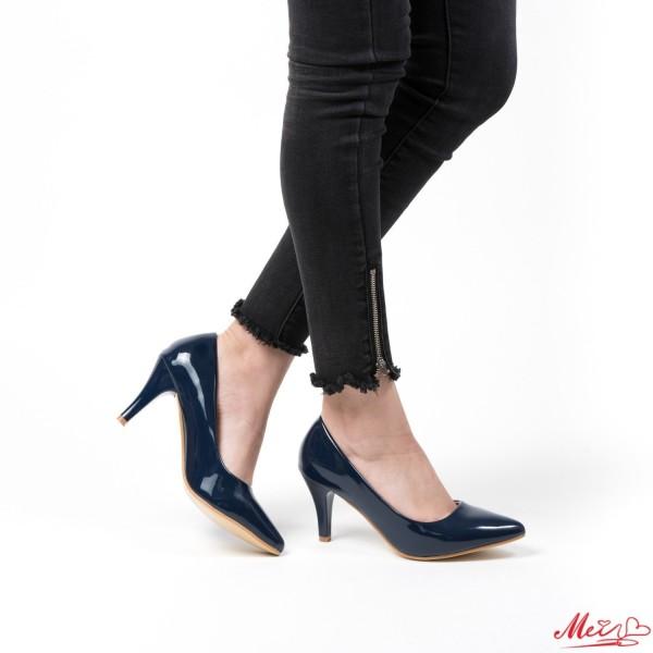 Pantofi cu Toc QZL66 Blue Mei