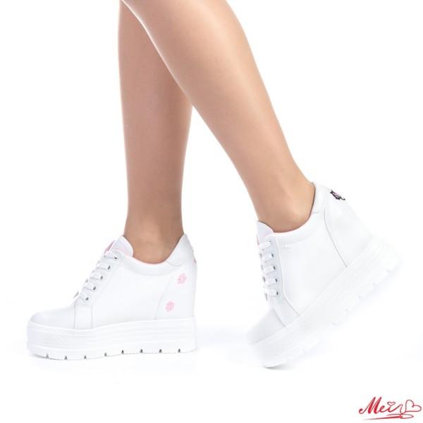 Pantofi Sport Dama cu Platforma SJN127 Pink Mei