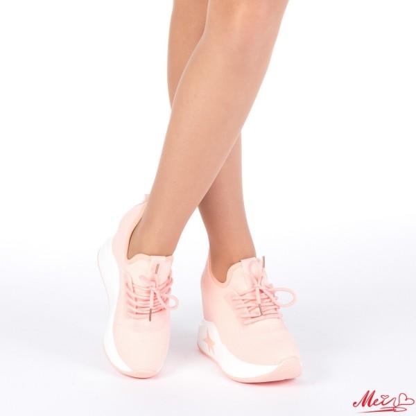 Pantofi Sport Dama cu Platforma SJN161 Pink Mei