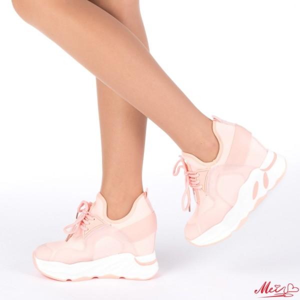 Pantofi Sport Dama cu Platforma SJN165 Pink Mei