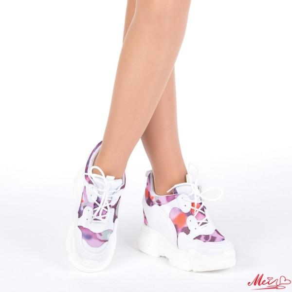 Pantofi Sport Dama cu Platforma SJN167 Pink Mei