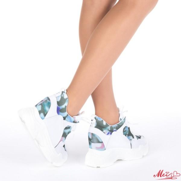 Pantofi Sport Dama cu Platforma SJN167 Blue Mei