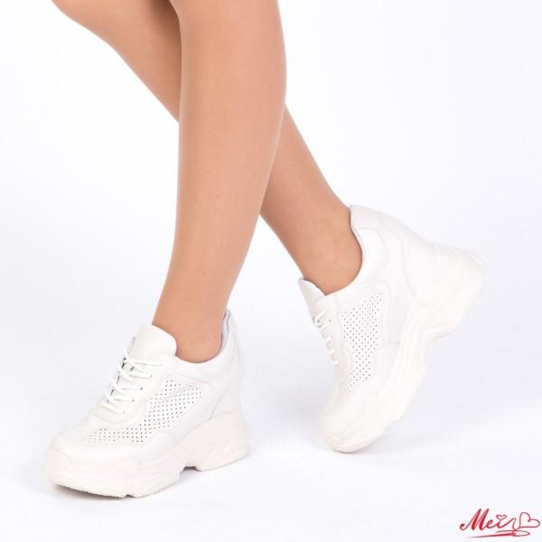 Pantofi Sport Dama cu Platforma SJN176 Nude Mei