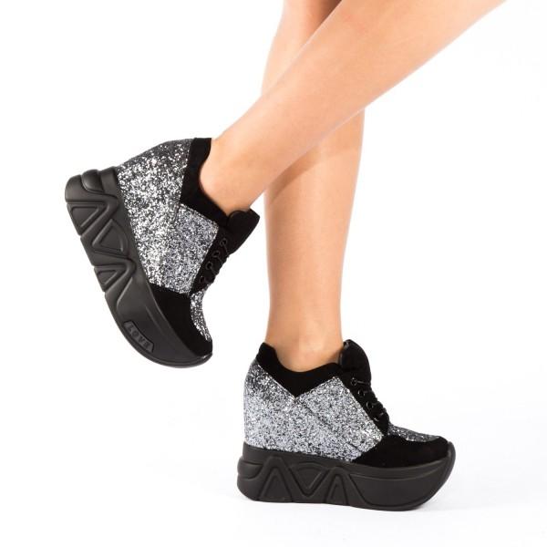 Pantofi Sport Dama cu Platforma SJN79 Guncolor Mei