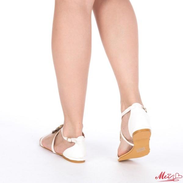 Sandale Dama SM50 White Mei
