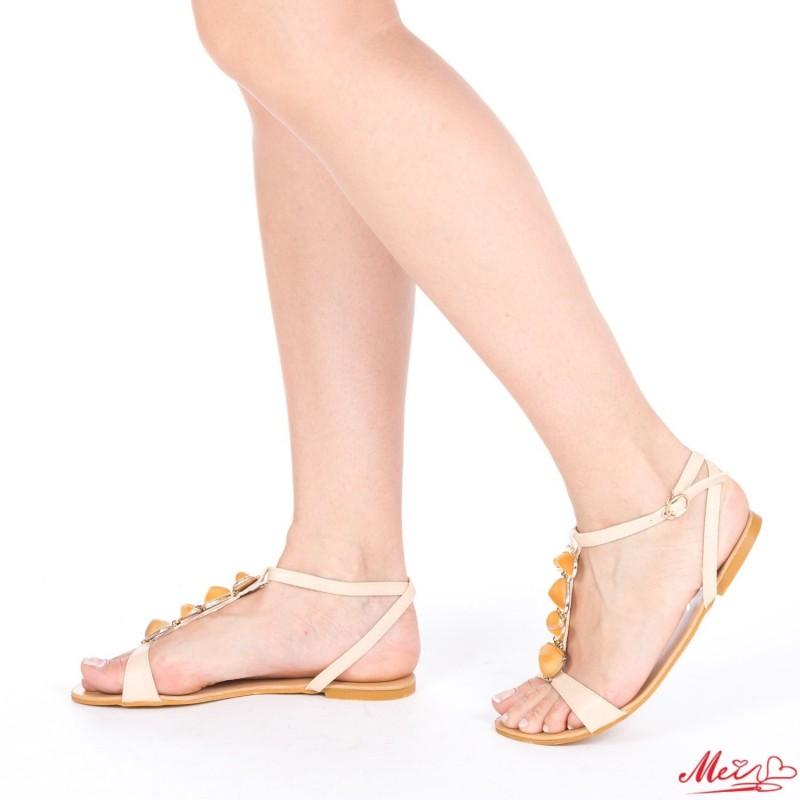 Sandale Dama SM58 Beige Mei