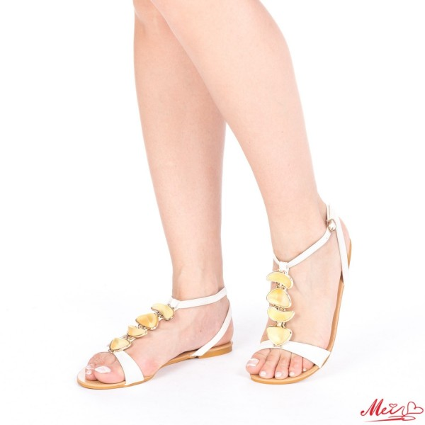 Sandale Dama SM58 White Mei