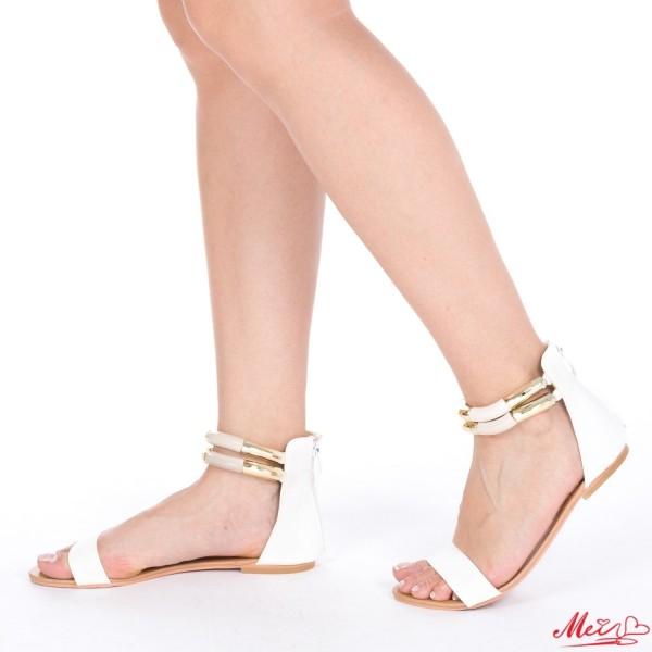 Sandale Dama SM61-1 White Mei