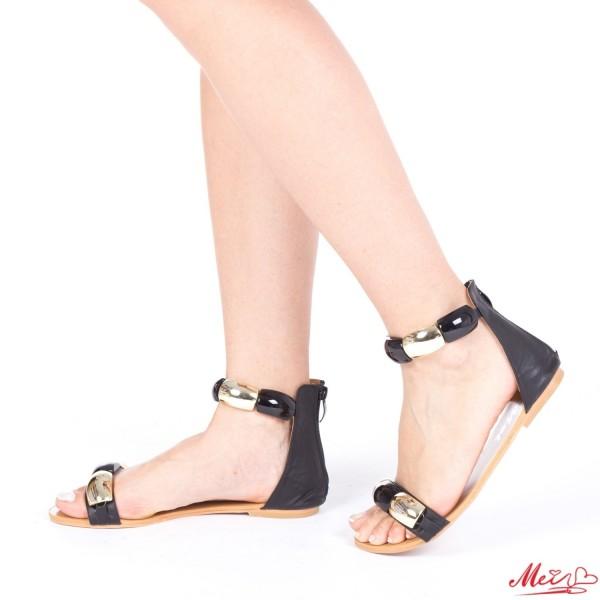 Sandale Dama SM62 Black Mei