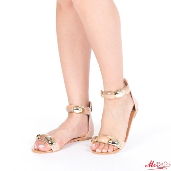 Sandale Dama SM62 Beige Mei
