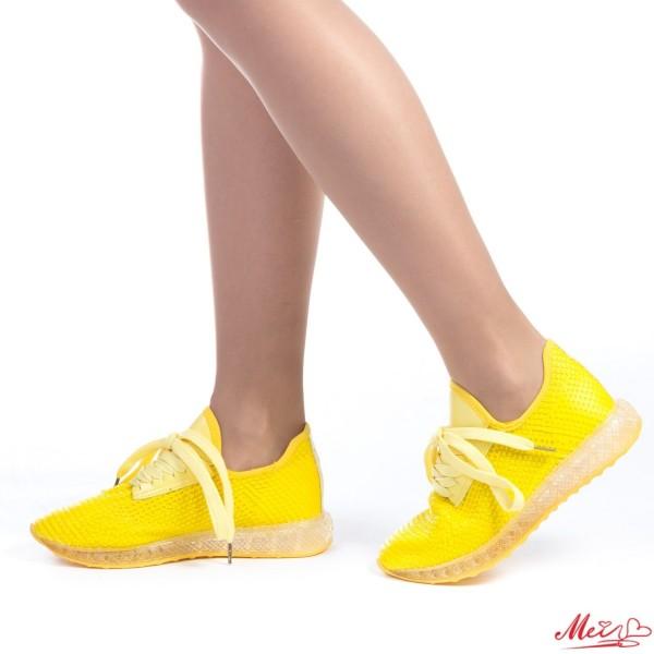Pantofi Sport Dama SZ108 Yellow Mei