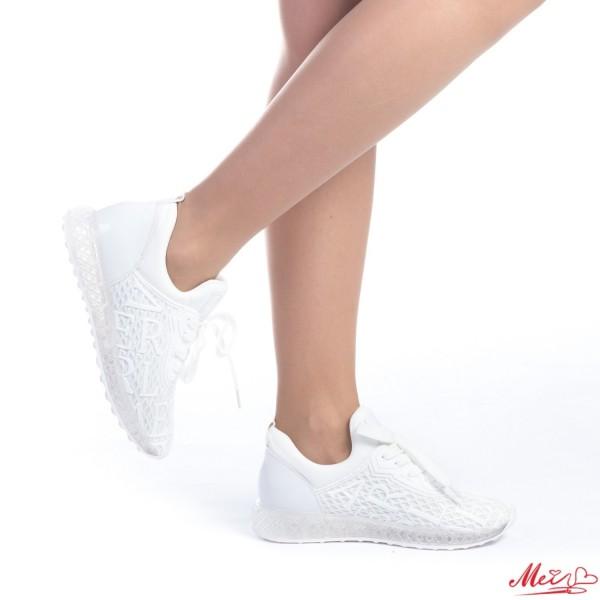 Pantofi Sport Dama SZ111 White Mei