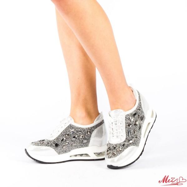 Pantofi Sport Dama SZ73 Silver Mei