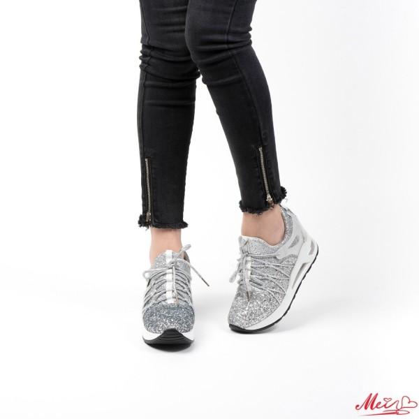Pantofi Sport Dama SZ85 Silver Mei