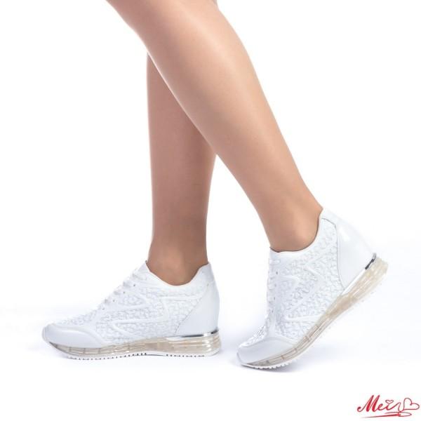 Pantofi Sport Dama SZ90 White Mei