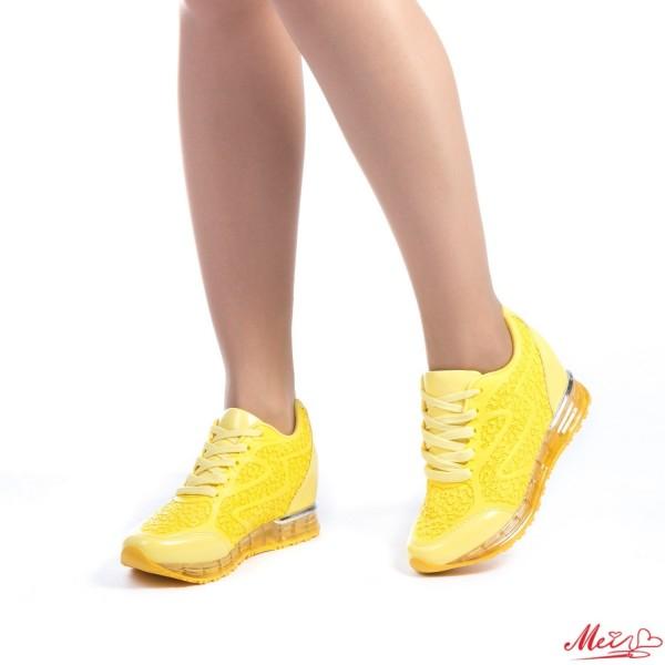 Pantofi Sport Dama SZ90 Yellow Mei