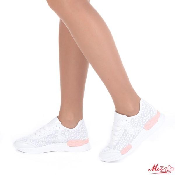 Pantofi Sport Dama SZ96 White Mei
