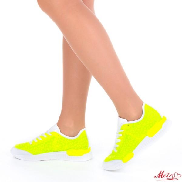 Pantofi Sport Dama SZ96 Yellow Mei