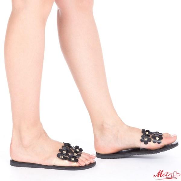 Papuci Dama TJ11 Black Mei