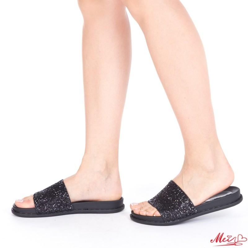 Papuci Dama TJ8 Black Mei