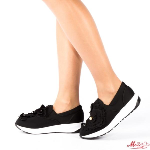 Pantofi Sport Dama WH03 Black Mei