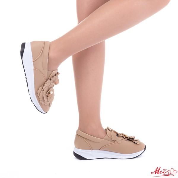 Pantofi Sport Dama WH03 Beige Mei