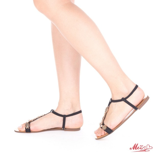 Sandale Dama WH1000 Black Mei