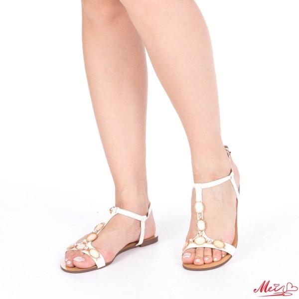 Sandale Dama WH1000 White Mei