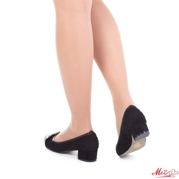 Pantofi Casual Dama WH1018 Black Mei