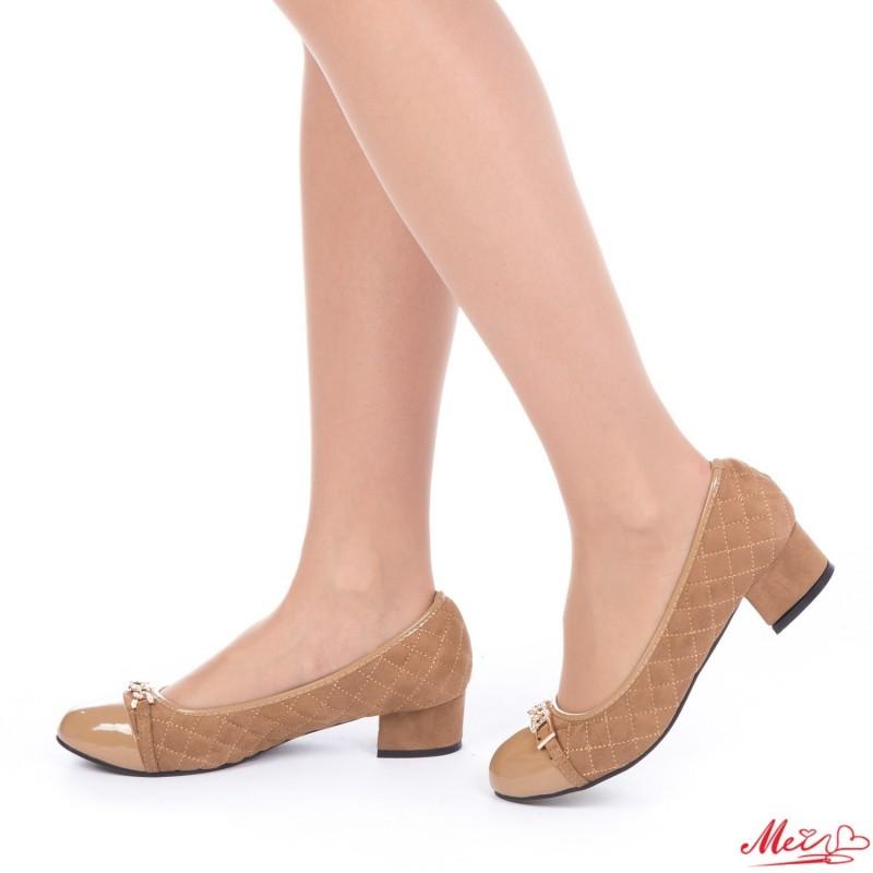 Pantofi Casual Dama WH1018 Khaki Mei