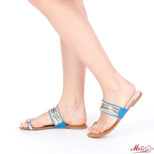 Papuci Dama WH1022 Blue Mei
