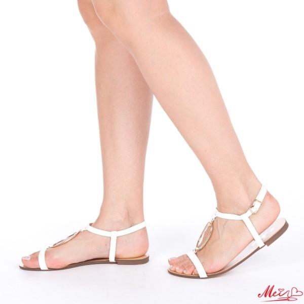 Sandale Dama WH987 White Mei