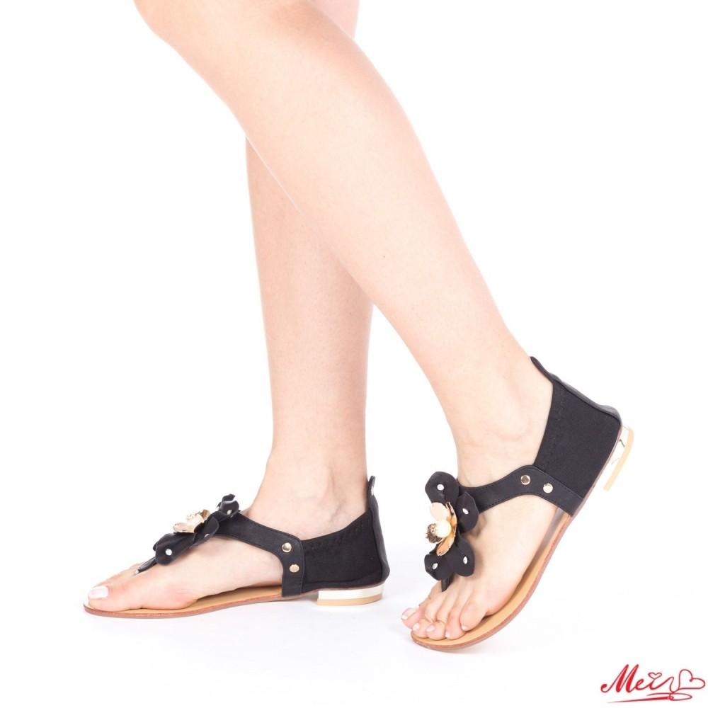 Sandale Dama WH997 Black Mei